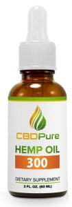 Organic CBD oil for sale online : CBDPure Hemp Oil 300 has been developed for those looking for a great all round supplement to supercharge their health and wellbeing. Each daily serving of CBDPure Hemp Oil 300 delivers 10 mg of cannabidiol via a natural and organic hemp oil. - Contains 10 mg of cannabidiol per daily serving - Natural and organic hemp oil - Natural hemp flavor - Backed by a 90 day Money Back Guarantee